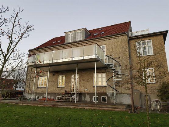 Høj terrasse Vordingborg